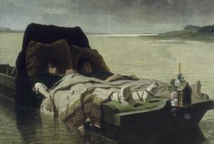 Les énervés de Jumièges by Evariste Vital Luminais