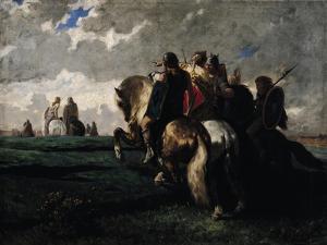 The Barbarians Before Rome by Evariste Vital Luminais