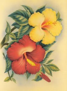 Hawaiian Hibiscus by Eve Hawaii