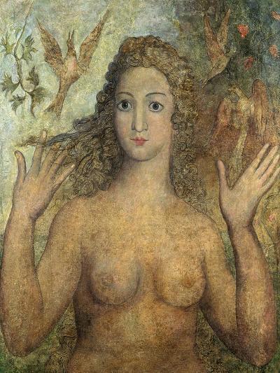 Eve Naming the Birds, 1810-William Blake-Giclee Print