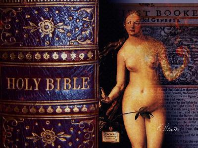 Eve Of The Bible-Ruth Palmer-Art Print