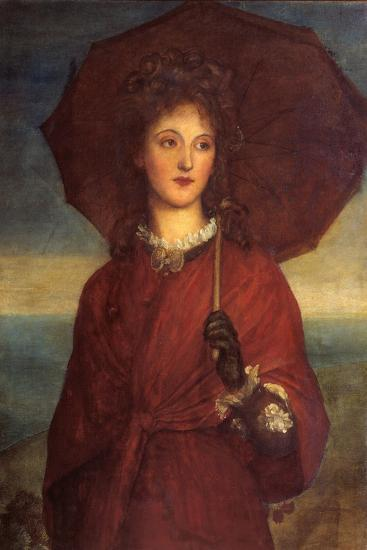Eveleen Tennant, Later Mrs F.W.H. Myers-George Frederic Watts-Giclee Print