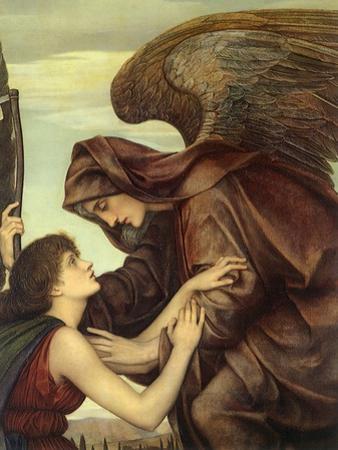 Angel of Death, 1890 by Evelyn De Morgan