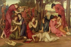 By the Waters of Babylon, 1882-83 by Evelyn De Morgan