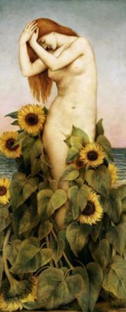 Clytie, 1886-7 by Evelyn De Morgan