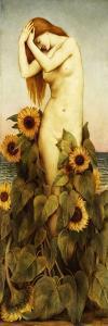 Clytie, 1886-87 by Evelyn De Morgan