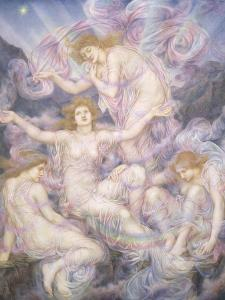 Daughters of the Mist by Evelyn De Morgan