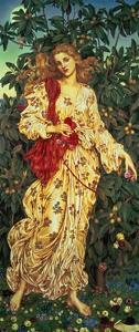 Flora, 1894 by Evelyn De Morgan