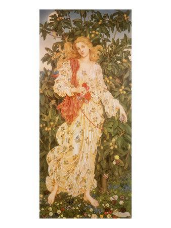 Flora, the Goddess of Blossoms, 1880
