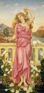 Helen of Troy, 1898 by Evelyn De Morgan