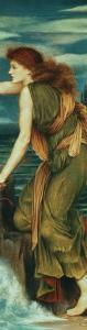 Hero Awaiting the Return of Leander by Evelyn De Morgan
