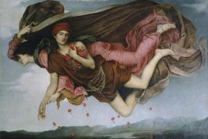 Night and Sleep by Evelyn De Morgan