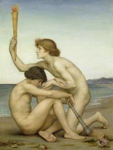 Phosphorus and Hesperus, 1882 by Evelyn De Morgan
