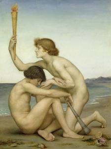 Phosphorus and Hesperus, 1882 by Evelyn De Morgan