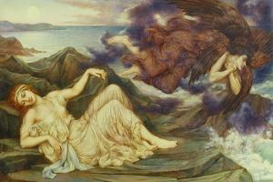 Port after Stormy Seas, 1905 by Evelyn De Morgan