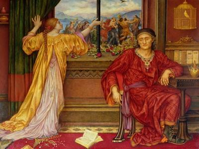 The Gilded Cage by Evelyn De Morgan