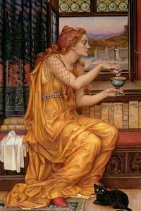 The Love Potion, 1903 by Evelyn De Morgan