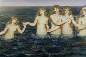 The Sea Maidens, 1885-86 by Evelyn De Morgan