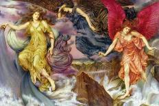 Queen Eleanor and Fair Rosamund-Evelyn De Morgan-Giclee Print