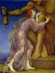 The Worship of Mammon, 1909 by Evelyn De Morgan