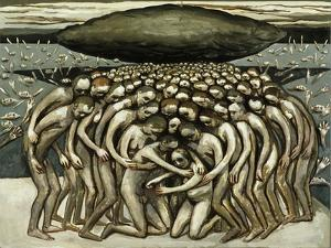 All the People - Oppressed by Black Cloud, 1982 by Evelyn Williams