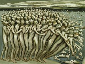 All The People - The Abyss, 1982 by Evelyn Williams
