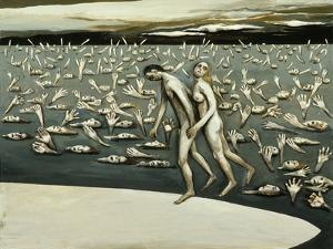 All the People - The Beginning, 1982 by Evelyn Williams
