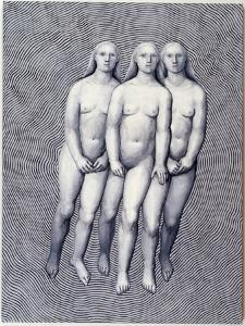 Apparition, 2002 by Evelyn Williams