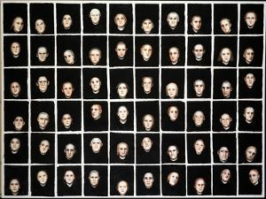Audience, 1993 by Evelyn Williams