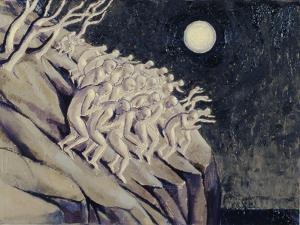 Coming off the Mountain, 1991 by Evelyn Williams