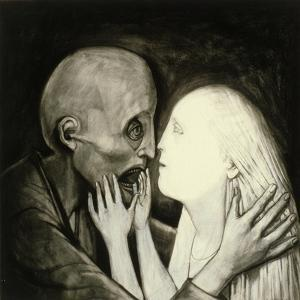 Death and the Maiden, 1984 by Evelyn Williams