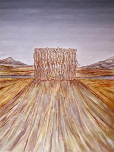 Fifteen Men in a Landscape, 2009 by Evelyn Williams