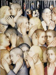 I Went to the Garden of Love', 2000 by Evelyn Williams