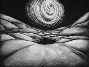 In the Pit III, 1987 by Evelyn Williams
