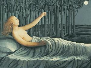 Moon on my Face, 1997 by Evelyn Williams