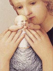 Mother and Child I, 1998 by Evelyn Williams