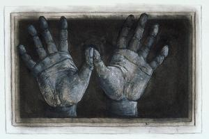 Pairs of Hands, 1977 by Evelyn Williams
