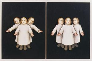 Portrait of the Artist as a Young Child 1 & 2, 1994 by Evelyn Williams