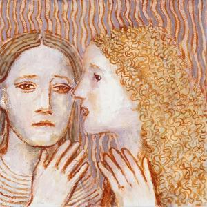 Sisters - 3, 2009 by Evelyn Williams
