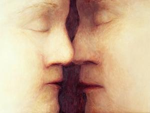 Sleeping Lovers, 1997 by Evelyn Williams
