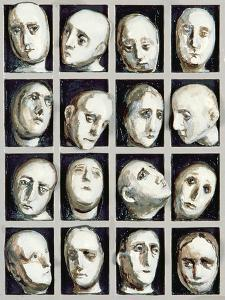 Study for Endless People, 1979 by Evelyn Williams