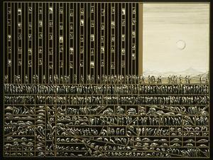 The City, 1981 by Evelyn Williams