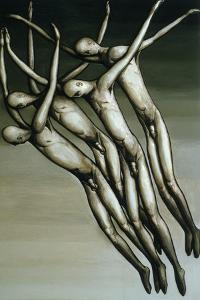 The Descent, 1984 by Evelyn Williams