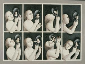 The Mirror, 1987 by Evelyn Williams