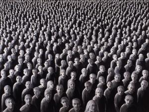 The Night Crowd, 2009 by Evelyn Williams