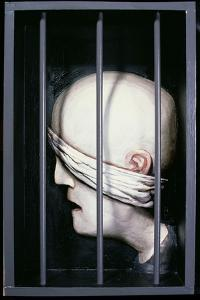 The Prisoner, 1984 by Evelyn Williams