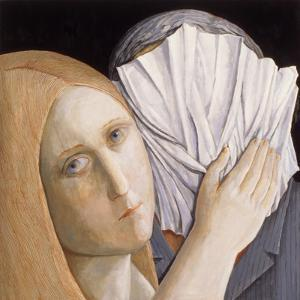 Veronica and the Man 1, 2009 by Evelyn Williams