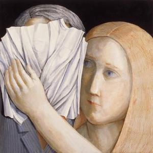 Veronica and the Man 2, 2009 by Evelyn Williams