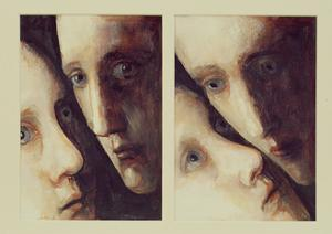 Watching You, 1995 by Evelyn Williams
