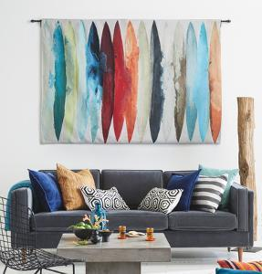 Even Flow Wall Tapestry